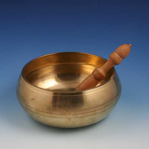 Large Brass Tibetan bowl